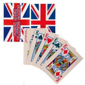 12 x Packs Playing Cards Plastic Coated - Union Jack Queen's Jubilee Party - Wholesale Bulk Buy